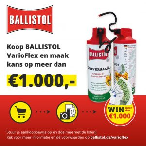 Ballistol action