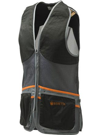 Beretta - Full Mesh Vest - Black & Gray
