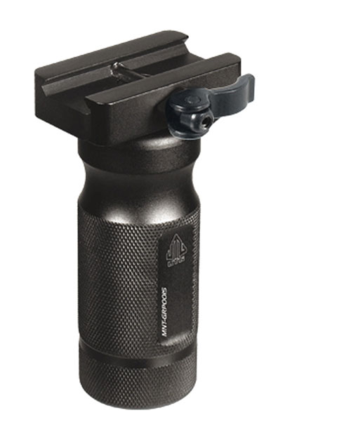 """UTG 4.1"""" Lowpro Combat Quality QD Lever Mount Metal Foregrip"""