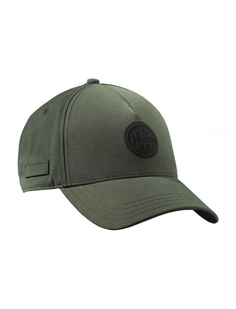 Beretta Rubber Patch Logo Cap - Green