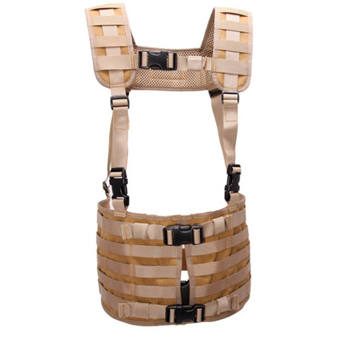SnigleDesign Modular chest rig, low advanced -10