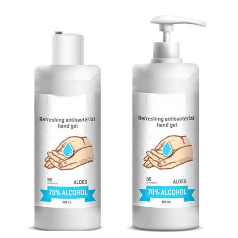 Desinfecterende gel 2 x 300 ml 70% alcohol