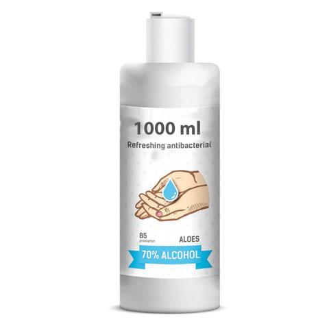Desinfecterende gel 1000 ml 70% alcohol