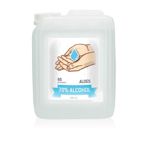 Desinfecterende gel 5000ml 70% alcohol