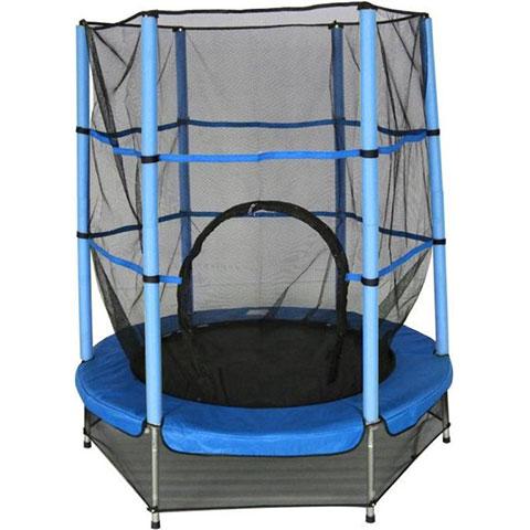Amigo trampoline blauw 139