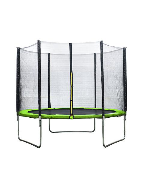 AMIGO trampoline met veiligheidsnet lichtgroen 305 cm
