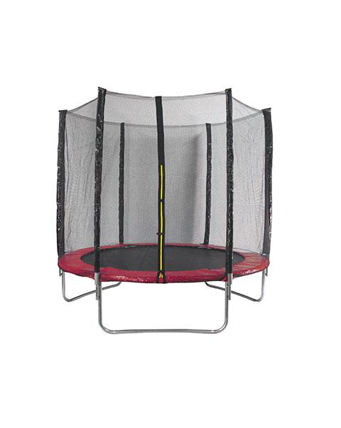 AMIGO trampoline met veiligheidsnet rood 305 cm