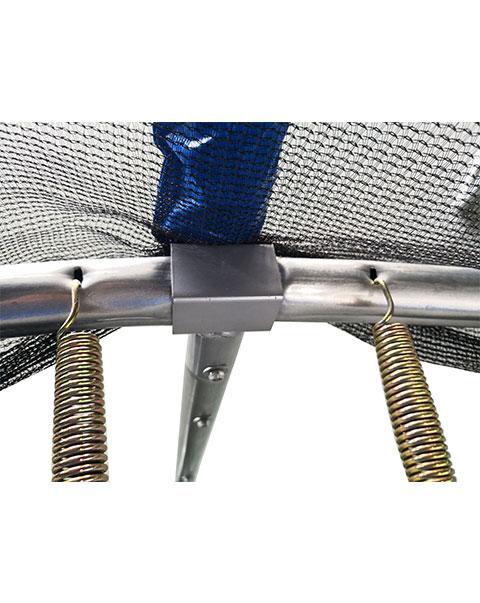 AMIGO trampoline met veiligheidsnet blauw 427 cm