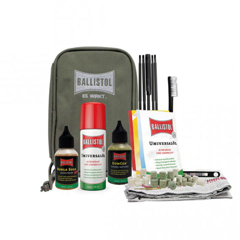 Ballistol - Gun cleaning bag (44 pcs)