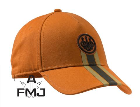 Beretta Corporate Striped Cap Orange