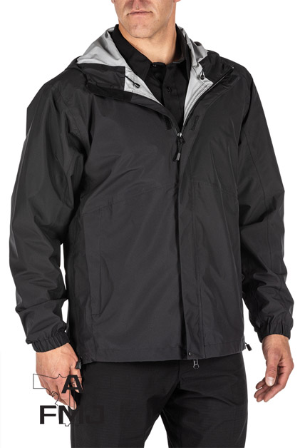 5.11 TACTICAL DUTY RAIN SHELL JACKET