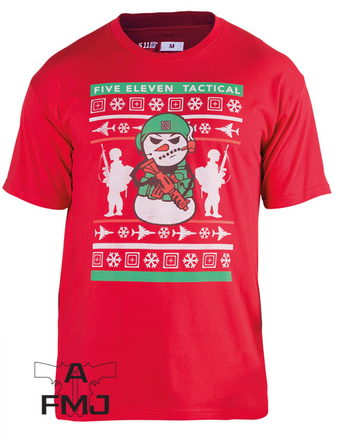 5.11 TACTICAL HOLIDAY UGLY T-SHIRT - LIMITED EDITION