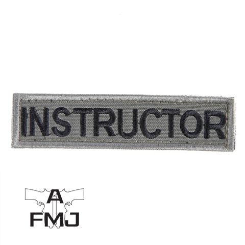 Snigel Instructor Patch Small -12