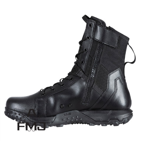 "5.11 Tactical ATAC 2.0 8"" Side Zip ISO Tactical Boots Black"