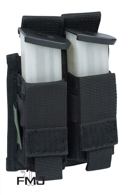 Warrior Assault Systems double 9mm pistol pouch