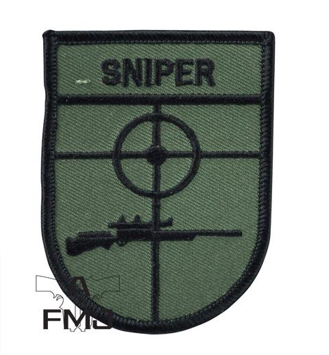 BW Sniper patch oliveblack