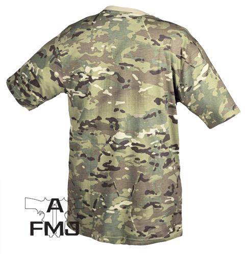 MIL-TEC Multitarn camo T-shirt